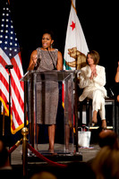 Michelle Obama, Jill Biden, Nancy Pelosi Democratic Fundraiser - Oct 2010